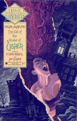 One of Poe's most famous works, The Fall of The House of Usher, has inspired artists for years.