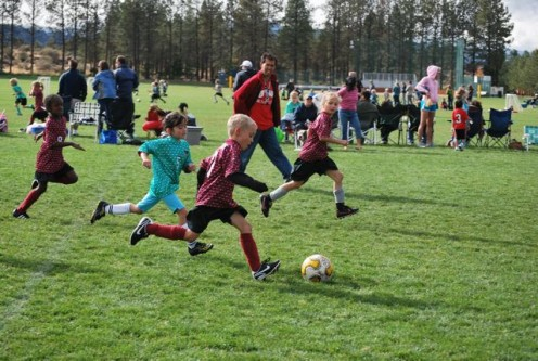 Soccer teaches coordination