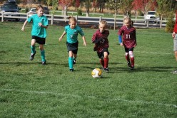 Learning to work as a team can be achieved through soccer