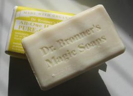 Dr. Bronner's - a great SLS-free soap!