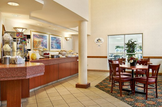 interior view of a Super 8 Motel