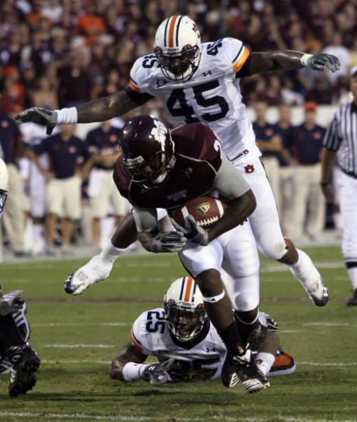 junior RB Vick Ballard (Miss. State)