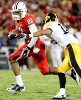 junior WR Juron Criner (Arizona)