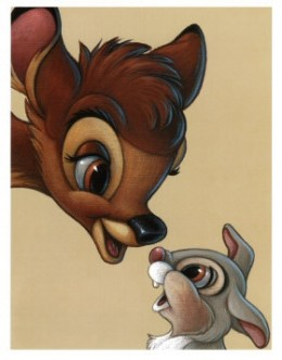 Bambi and Thumper: Best of Friends