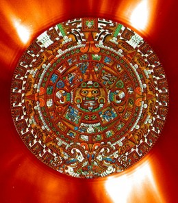 Aztec calendar and the number 12.
