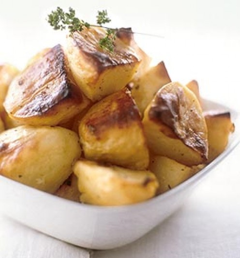 Homemade lard. Make the best roasted potatoes you've ever had!