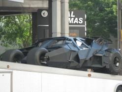 The Dark Knight Bat Mobile