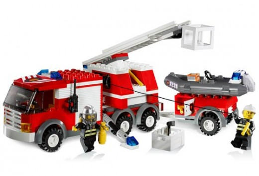 Lego City Fire truck