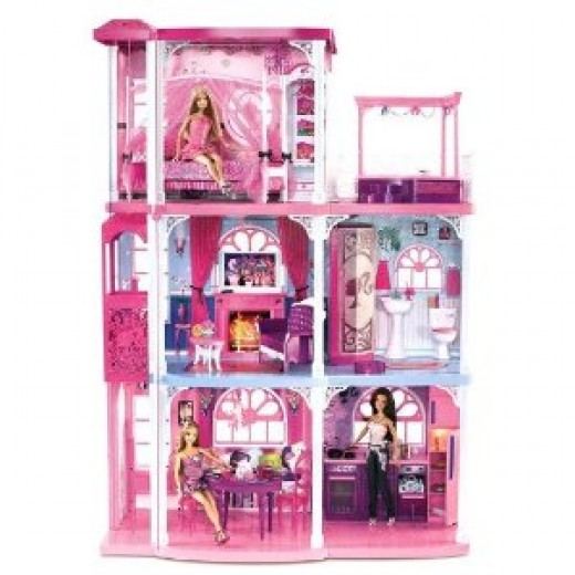 Barbie Pink 3 Story Townhouse