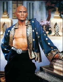 "YUL BRYNNER, King Mongkut of Siam in ""The King and I"" by Rodgers and Hammerstein"