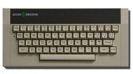 The Acorn Electron had that professional look