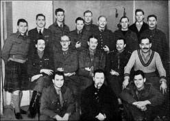 British Officers at Colditz, 1942