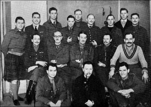 British Officers at Colditz, 1942