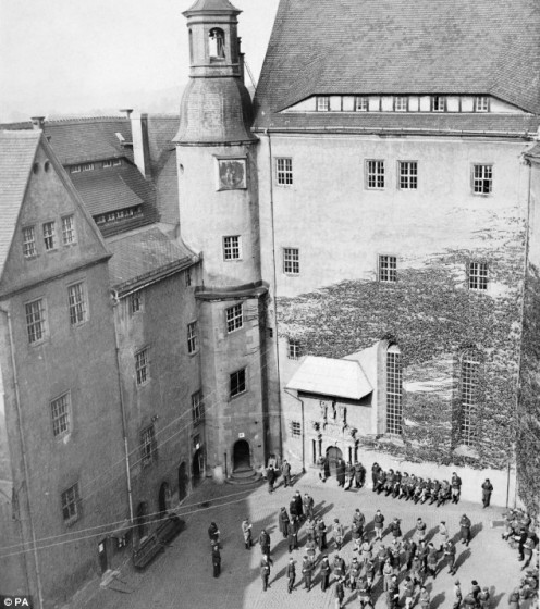 Colditz Castle and it's prisoners, 1940 - 1945