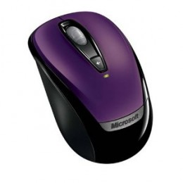 Microsoft Wireless Mobile Mouse 3000 - Purple