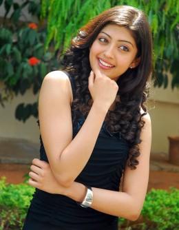 Praneetha cute smile