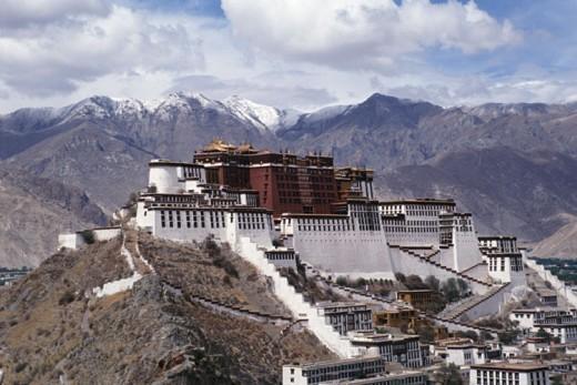 Lhasa, Tibet (stock photo)
