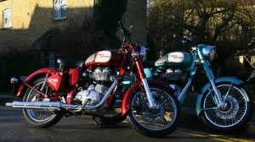 2010 Royal Enfield C5's