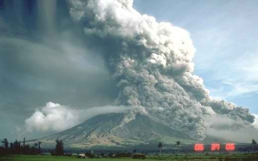 Mayon Volcano in Albay, Bicol, Philippines