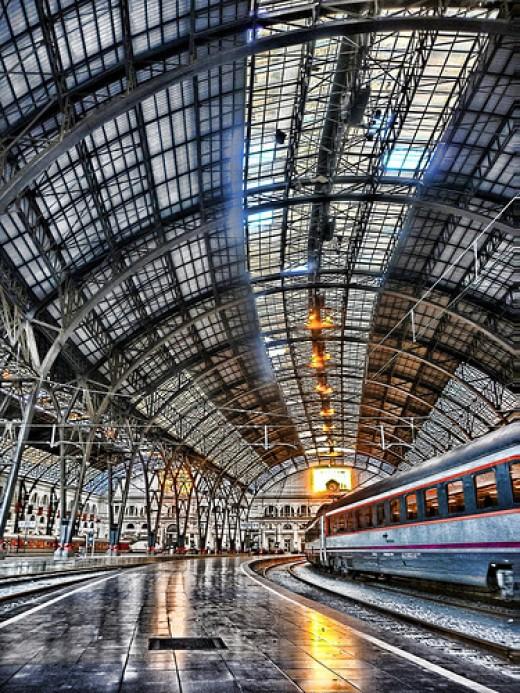 Estaci de Frana (France railway station)