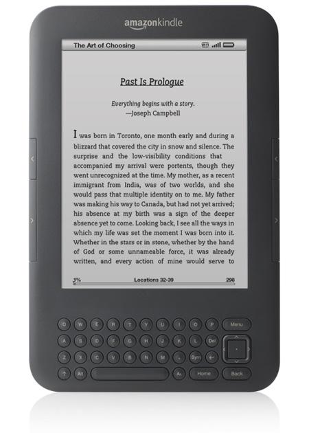 Amazon's Kindle 3G