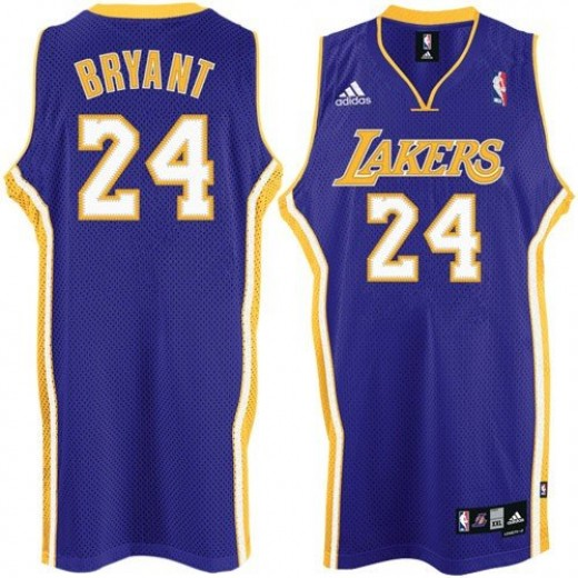 Los Angeles Laker's No. 24 Kobe Bryant
