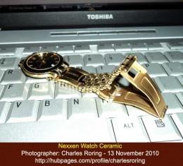Gold Plated Nexxen Watch from Switzerland
