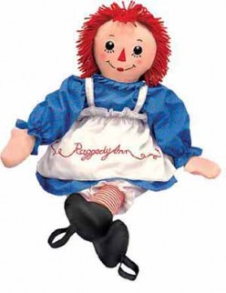 His Raggedy Ann