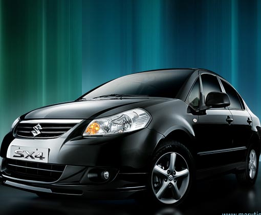 Maruti SX4 2011 Shining Black Car