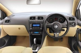 Volkswagen VW Vento Dashboard steering, stereo display