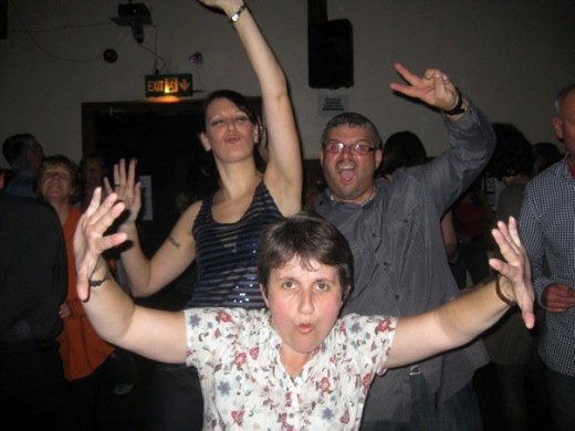 Dancing, and generally being silly and not caring what you look like, can be tremendously happiness-inducing.