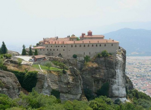 The Holy Monastery of St. Stephen (Photo taken by Janmad, 28June2008)