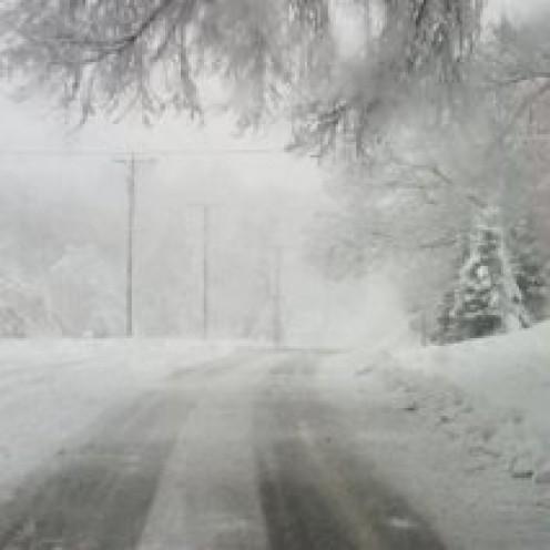 First Big Snowstorm of the Season in Minnesota