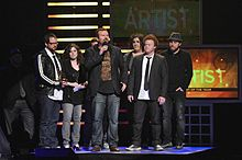 Casting Crowns at the 2010 GMA Dove Awards