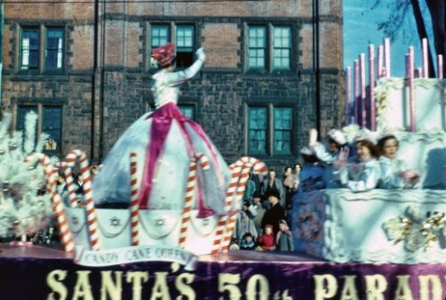 The Toronto Santa Claus Parade - 1955