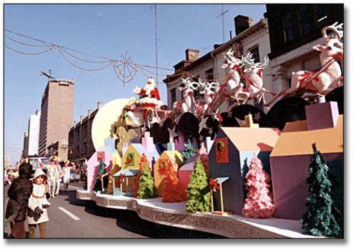 The Toronto Santa Claus Parade - 1969