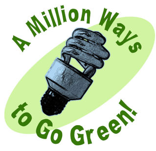 Save Money and Help the Environment - Go Green