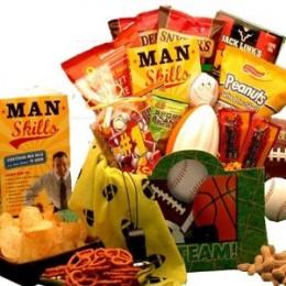 Sporty Man Snacks!!
