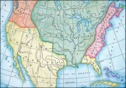 The Territorial Expansion of the USA, between 1500 and 2000, in pictures