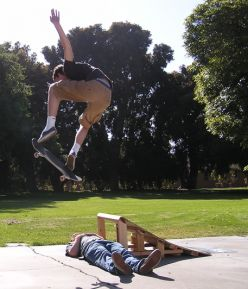 How to build a small skate ramp