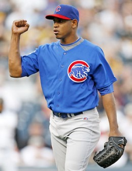 Carlos Marmol led all Fantasy Baseball Closers in Strikeouts in 2010