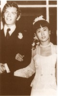 Her wedding, with untiring lover-Dr.Michel Aris