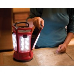 Coleman LED Quad Lantern Indoors or Outdoors