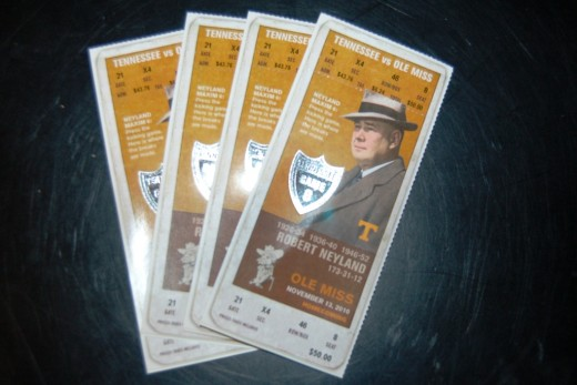 After work, I picked up some tickets to the game tomorrow for my friends and myself.