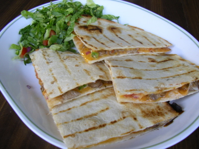 Homemade Quesadilla