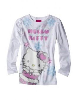 Glitter Graphic Girl Shirt