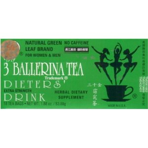 3 Ballerina Tea Weight Loss Tea