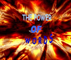 Power of words - the  power to choose