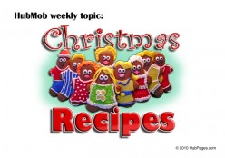 HubMob Weekly Topic: Christmas Recipes