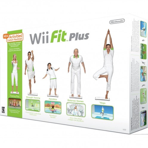 Wii Fit Plus and Balance Board